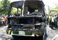 31 trẻ nhỏ bị thiêu cháy trong xe buýt