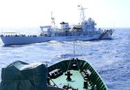 Trung Quốc giảm tàu tại giàn khoan trái phép