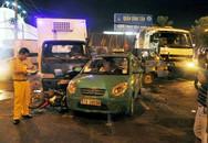 6 xe tông nhau liên hoàn trên quốc lộ 1A, nhiều người bị thương