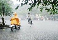 Cảnh báo mưa dông cho khu vực Hà Nội
