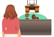 Những vấn đề bé sẽ gặp phải khi xem tivi quá nhiều