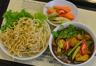 No miệng bữa trưa với những món ăn rau củ