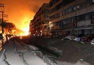 Nổ khí gas hàng loạt ở Đài Loan, 20 người chết, 270 người bị thương