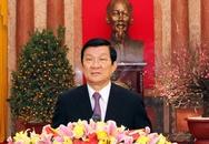Chủ tịch nước chúc mừng Tết Quý Tỵ năm 2013