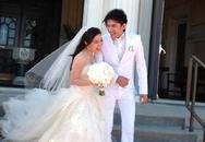 Đan Trường rạng rỡ trong lễ cưới