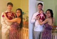 Những bức ảnh gia đình theo phong cách xưa và nay