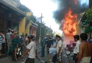 Cháy nhà trong phố cổ Hội An