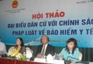"""TP HCM: Hội thảo """"Đại biểu dân cử với chính sách pháp luật về BHYT"""""""