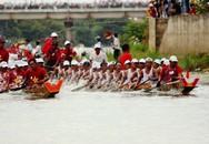 Lễ hội đua thuyền trên quê hương Đại tướng