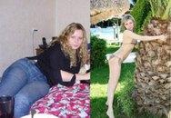 """""""Choáng"""" với những hình ảnh lột xác của các cô nàng sau... giảm cân"""