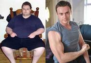 """Chàng béo """"siêu hot"""" giảm 115kg trong 18 tháng"""