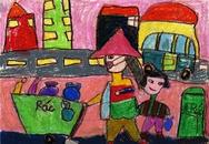 """Cuộc thi thiếu nhi vẽ tranh """"Vệ sinh yêu nước"""": Các bức tranh đoạt giải khuyến khích"""