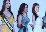Hoàng Anh mặc váy nhàu tại Miss Earth