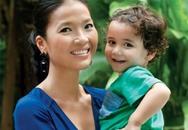 Bằng Lăng sống yên phận bên chồng con ở Thái Lan