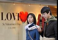 Muôn kiểu đón Valentine trên thế giới