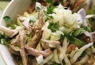 Nộm gà bắp cải mát rượi