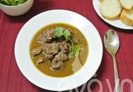 Làm món thịt bò sốt vang dễ ợt