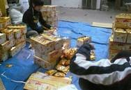 """""""Lò"""" sản xuất bánh kẹo siêu bẩn ở Hà Nội"""