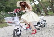 Giới trẻ đua nhau sắm xe đạp điện thời trang đi học