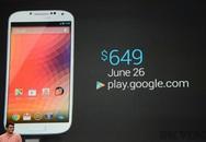 Google ra mắt Galaxy S4 phiên bản đặc biệt