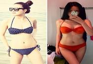 Mai Phương Thúy đọ dáng với em gái trong trang phục bikini
