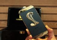 Ngắm iPhone 5 đúc vàng, khảm rắn giá 290 triệu ở VN