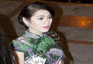 Khanh Chi Lâm mặc sườn xám lộ nét nam tính trên thảm đỏ