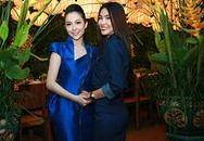 Tăng Thanh Hà thân thiết cùng Linh Nga ở nhà hàng