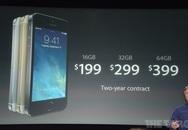 iPhone 5S nhanh gấp 56 lần iPhone đời đầu