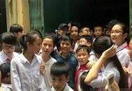 Quang Anh trở về quê nhà trong sự chào đón nồng nhiệt của người dân