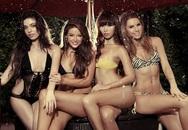 Hà Anh bốc lửa bên top 3 Miss Global