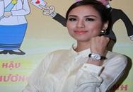Hoa hậu Diễm Hương nổi bật với đồng hồ dát kim cương 5 tỷ đồng