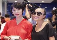 Xuân Lan, Đoan Trang cùng nhau 'bế' bụng bầu dự sự kiện