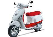 Vespa LX tuyệt đẹp với màu đỏ - trắng kết hợp