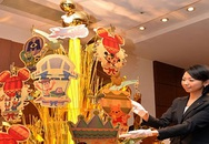 Cây thông Noel bằng vàng ròng trị giá hơn 100 tỷ đồng