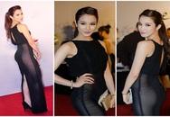 Mỹ nhân Việt làm khán giả choáng vì nghiện mốt váy xuyên thấu 'quên nội y'