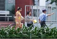 Hoàng Yến xuất viện sau tai nạn lật xe