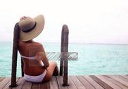 Gia đình chồng Hà Tăng khoe ảnh du lịch 'thiên đường' Maldives