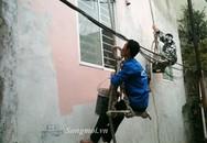 Thợ sơn nhà hốt bạc ngày cận Tết