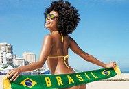 Người mẫu bốc lửa trong áo tắm mùa World Cup