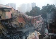 Một cháu bé mất tích sau đám cháy lớn