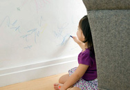 Cách tẩy vết bút màu trên tường