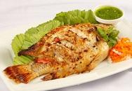 Ngon tuyệt cá nướng chấm muối ớt xanh