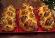 Học làm bánh mì challah phủ vừng thơm lừng hấp dẫn