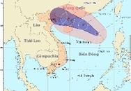 Biển Đông có bão