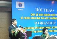 Hội thảo về chính sách ứng phó với xu hướng giảm sinh