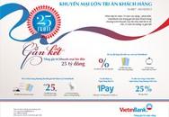 """""""25 năm gắn kết"""" – VietinBank tri ân khách hàng"""