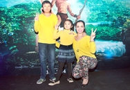 Sao Việt đồng loạt dẫn con đi xem phim Tazan 3D