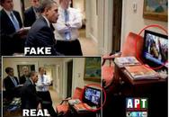 Ảnh Obama xem pháp sư Malaysia hành lễ là ảnh chế