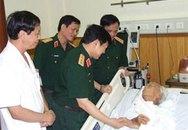 Lãnh đạo Bộ Quốc phòng thăm đại tướng Võ Nguyên Giáp